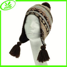 Cheap hip hop snow day warm earflap hat in stock