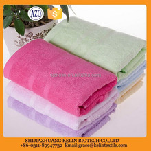 Wholesale bulk customize size organic fabric 100% bamboo towel