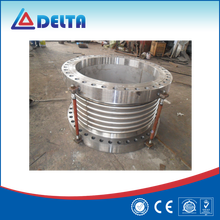 Tube Connection Stainless Steel Flange End Boiler Pipe Bellows Compensator
