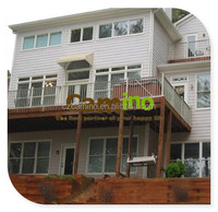 exterior composite wood plastic wall boards