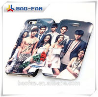 Year-end promotion!Offer printing service! leather flip custom made cell phone case for iphone 5 pu case