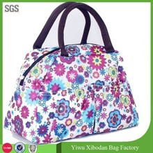 lovely flowers small Handbag Tote Clutch Lunch Bag