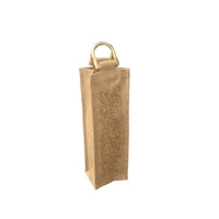 jute wine bag bottle bags (wz6369)