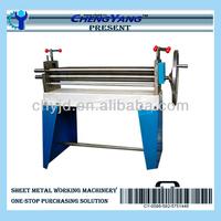 Manual 3 Rolls Small Sheet Roller Bending Machine