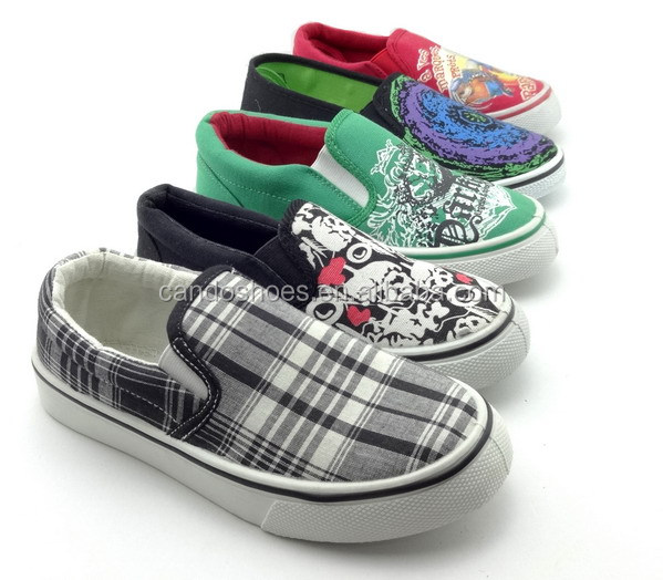 wholesale china kids shoes canvas sneakers