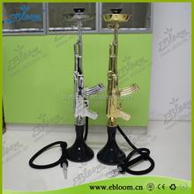 Gun hookah shisha cool design AK47 hookah wholesale