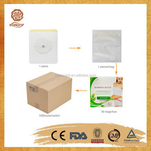 china supply Support CE ISO effective Burn Fat weight loss product slimming patch