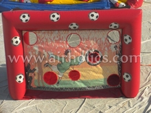 inflatable football shooting, inflatable soccer goal A6046