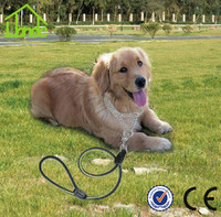 China professional manufacturer dog collars and leashes Custom Collar Pets Lead Leash pet leash