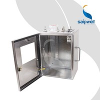 SAIP/SAIPWELL High Quality Low Price Removable Electrical Stainless Steel Power Socket Box