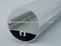 freecom china manufacture plastic led tube light cover