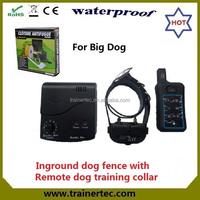 Wholesale invisible underground remote dog training fence DF-113Rbest wireless dog fence