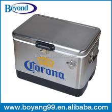corona beer stainless steel cooler