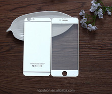 Mirror screen protector for iphone 6 plus front and back tempered glass screen protector colorful