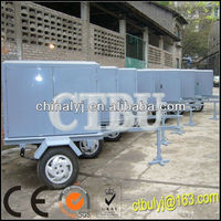 Transformer Oil Vacuum Oil Filtration Machine With Trailer