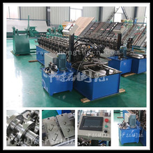 C channel sheet metal rolling machine for making roofing, ceiling and others