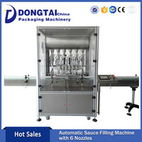 China Factory Outlet Automatic Cosmetic Cream Lotion Filling Machine