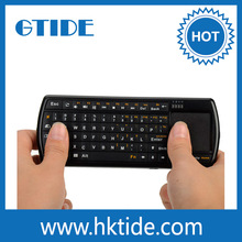71 Back-lighted Keys 2.4G RF Wireless Keyboard With Touchpad Mouse For Smart TV