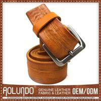 Credible Quality Reasonable Price Genuine Leather Personalized Belt Buckles