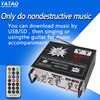 Small amp bluetooth speaker with am fm radio player YT-K01