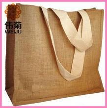 Custom eco friendly jute bag for shopping