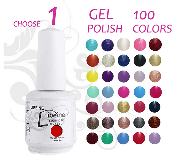 Wholesale Neon Orange Nail Polish Gel Kits,Gel Fingernail