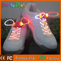 Blister packing good for super market wholesale led shoes laces