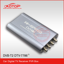 hd pvr digital dvb-t2 set top box with FOUR Antenna,1080P HD,PVR,High Speed120km/h for Thailand
