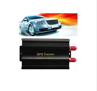 GPS Tracker 103A Tk103A TK103 GPS103A Real Time Tracker Door Shock Sensor ACC Alarm Real-Time GSM/GPRS Tracking Vehicle Car