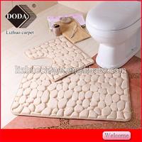 2015 New Product Washable Memory Foam Anti-slip Bath Mat