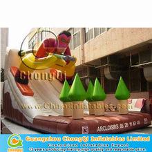 top selling inflatable toboggan slide