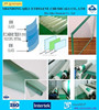competitive price low price and good quality French green pvb laminating film for automotive glass with ISO