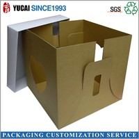 Paper board can be customized gift packaging box