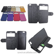 vga rca new product leather case for iPhone 6 Plus