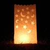Moon and star wedding luminarie candle bags