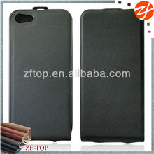 2015 hot selling flip cover leather case for iphone 5/5s , phone accessory