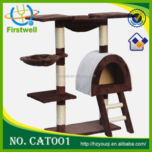 China top ten selling pet products/plush cat tree/cat toys with new design