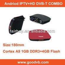 stb hd dvb t2 Android 4.0 DVB T IPTV