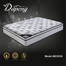 High grade quilted knitting cover bed vacuum compressed mattress