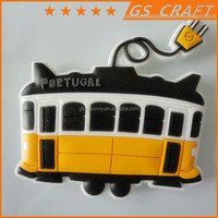 Wholesale good quality logo embossed fridge magnet puzzle