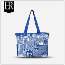 HenRon2 BSCI Factory hot popular blank canvas tote bags wholesale