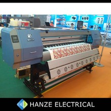 Industrial 1.8meters digital textile printing machine with double DX5 heads for direct to fabric printing on sale