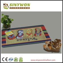 Popular Cartoon Design High Definition Printed Door Mat