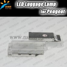 Best selling hot chinese products led Luggage Lamp lights for peugeot 307,406 ,407