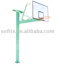 """Basketball In Ground Basketball System Basketball Stand with 60"""" Backboard Basketball Hoop"""