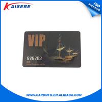 Plastic RFID membership card