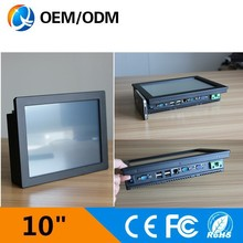 10 inch touch screen industrial panel pc of china manufacturer