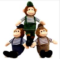 custom plush monkey
