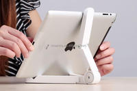 hight quality plastic Portable Fodable Tablet pc security stand