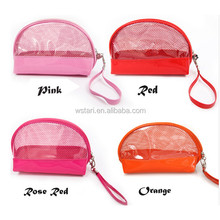 Clear plastic toiletry bags, new design travel wash bag cosmetic bag